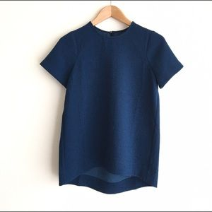 Madewell Tailored Tee in Blue